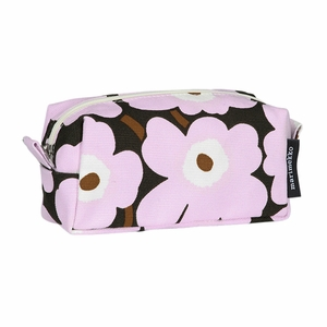 Marimekko Unikko Lilac / Brown Tiise Cosmetic Bag