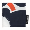 Marimekko Unikko Ecru / Navy / Orange Smart Bag
