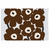 Marimekko Unikko Ice / Brown Fabric