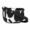Marimekko Unikko Ivory / Black Kerttu Shoulder Bag