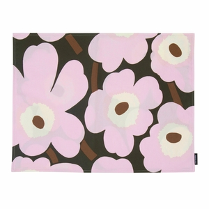 Marimekko Unikko Lilac / Brown Acrylic-coated Placemat