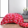 Marimekko Unikko Red / Ajo Black Reversible Bedding