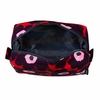 Marimekko Unikko Red / Plum / Pink Verso Cosmetic Bag