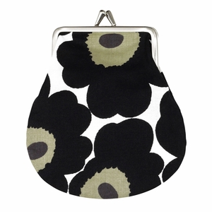 Marimekko Unikko White / Black Coin Purse