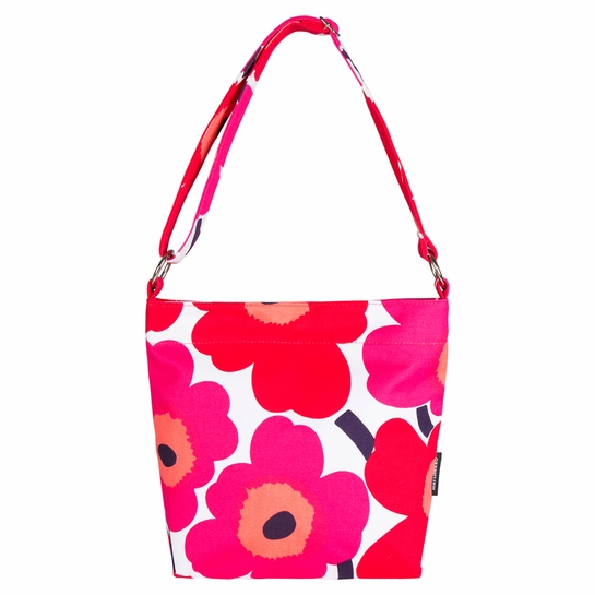 Marimekko Unikko White / Red Venni Bag