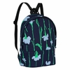 Marimekko Viivakukka Blue / Green Mini Eira Backpack
