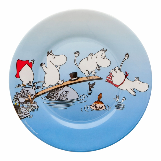 Moomin At The Lake Children's Plate