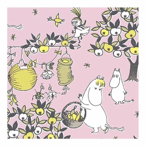 Moomin Celebration Pink Lunch Napkins