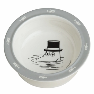 Moomin Grey Children's Suction Bowl
