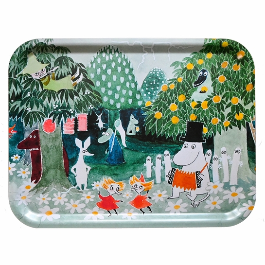 Moomin Magician's Hat Large Serving Tray