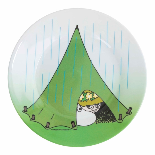Moomin Snufkin Camping Children's Plate