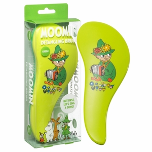 Moomin Snufkin Green Brush