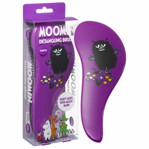 Moomin Stinky Purple Detangling Brush