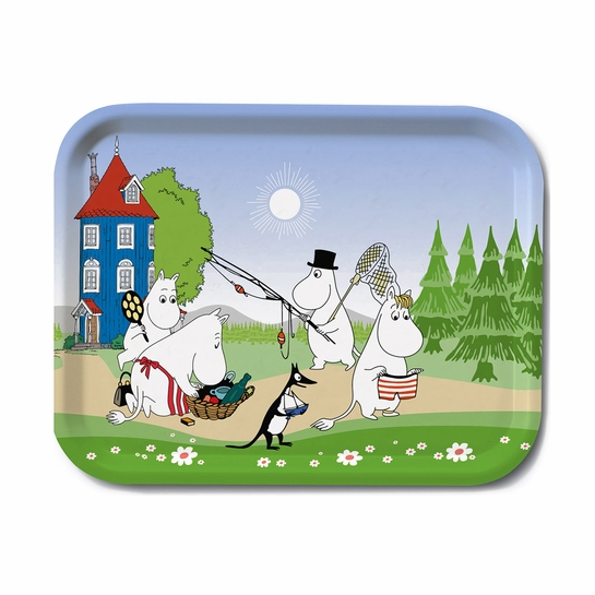 Moomin Summer Small Tray