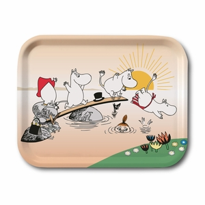 Moomin Summer Swim Small Tray