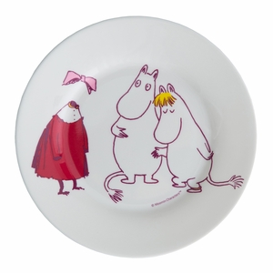 Moomin The Invisible Child Children's Plate