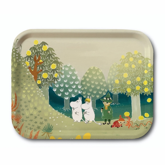 Moomin Valley Hill Small Tray