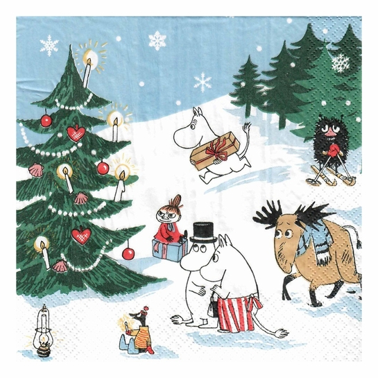 Moomin Winter Wonderland Lunch Napkins
