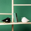 Muurla Kihu Black Glass Bird