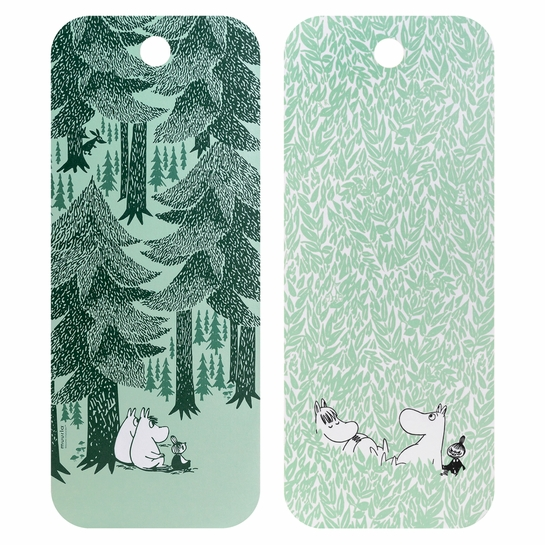 Muurla Moomin In The Depth Of The Forest Chop & Serve Board