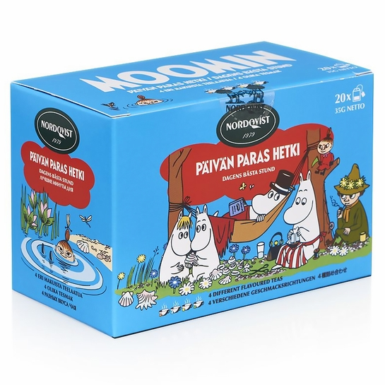 Nordqvist Moomin Best Moment Of The Day Assorted Black Tea