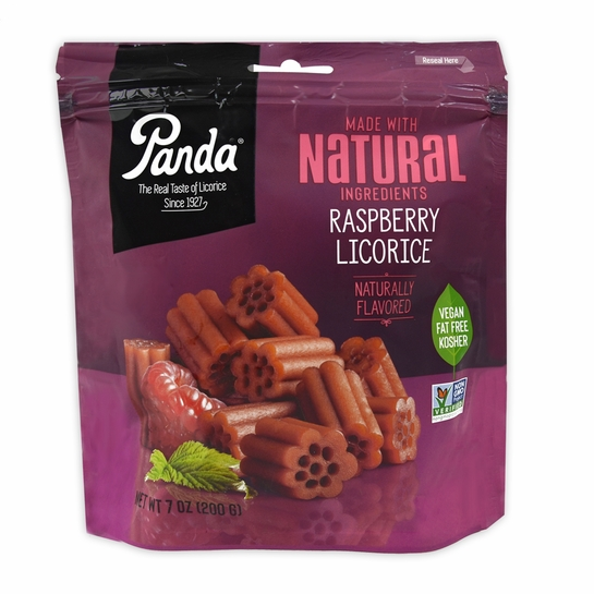 Panda Raspberry Licorice Bag - 7 oz