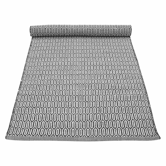 Pentik Alvar Dark Grey Cotton Rug