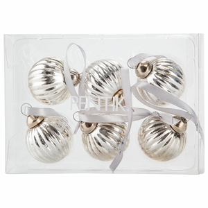 Pentik Decora Bauble 6pc Boxed Ornament Set