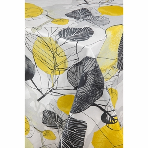 Pentik Haapa Grey / Yellow Tablecloth