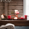 Pentik Kaisla Red Table Candle
