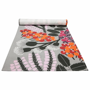 Pentik Kangasmetsa Grey / Multi Acrylic-coated Table Runner