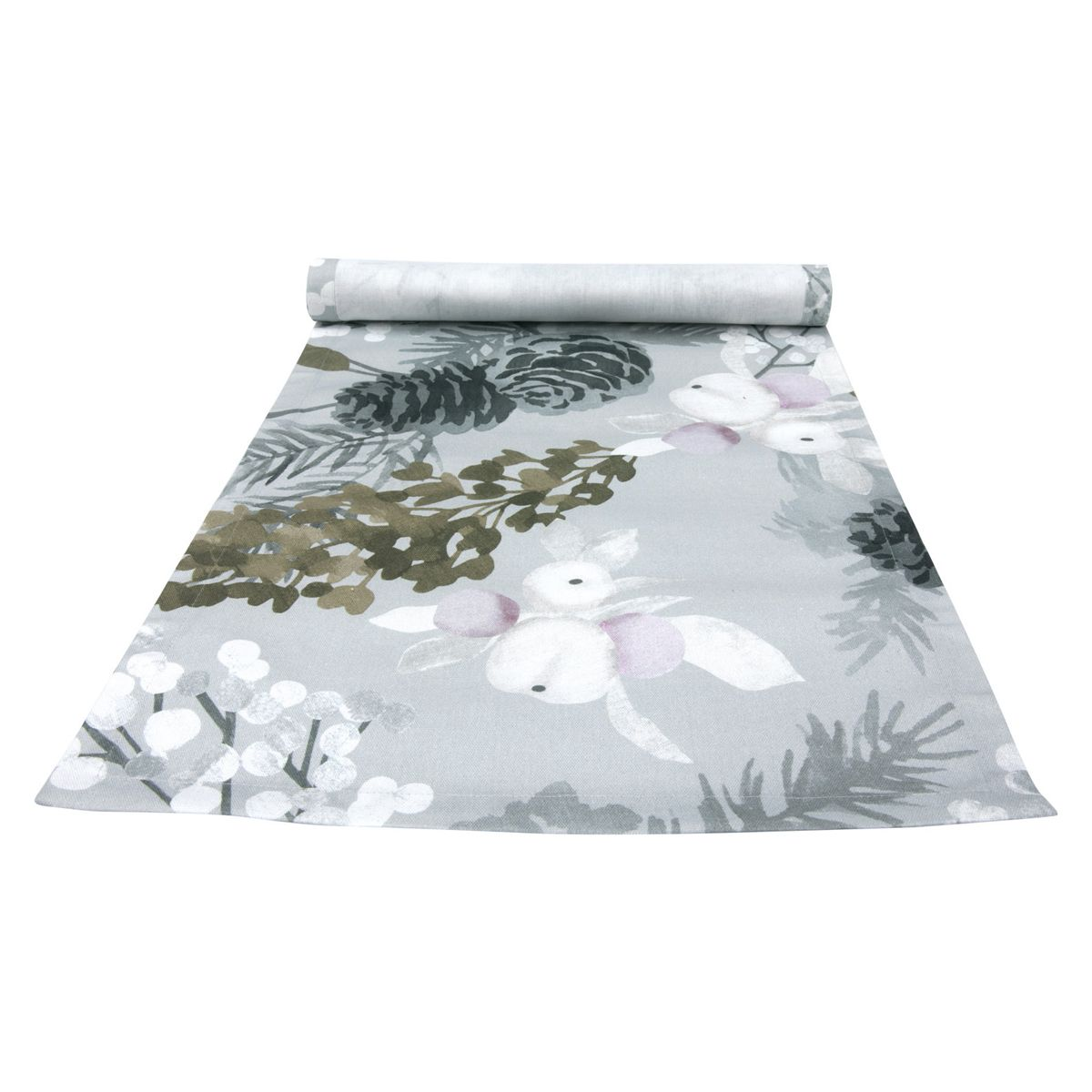 Pentik Karelia Grey Short Table Runner