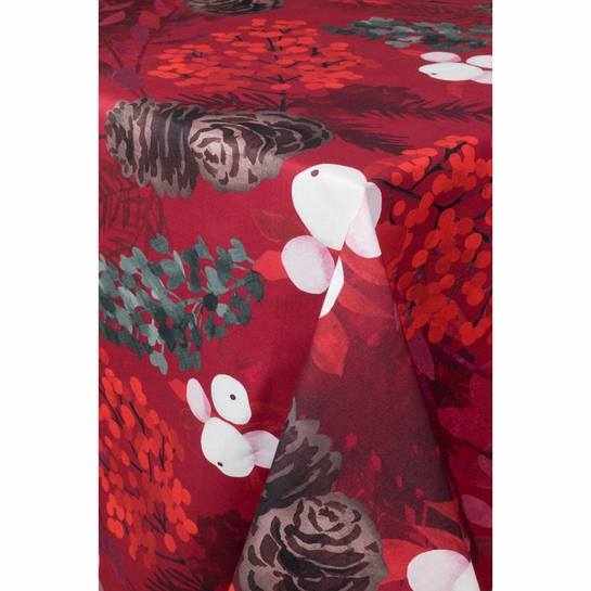 Pentik Karelia Red Tablecloth