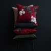 Pentik Karelia Red Throw Pillow