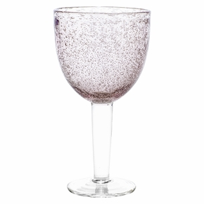 Pentik Linda Burgundy Wine Glass
