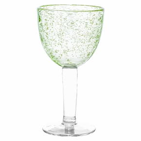 Pentik Linda Green Wine Glass