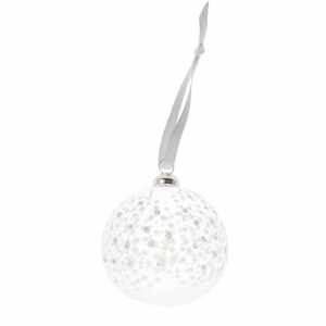 Pentik Lumi Glass Medium Bauble Ornament
