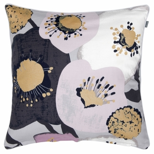 Pentik Lumikukka Grey Throw Pillow
