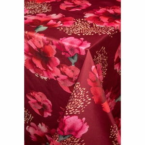 Pentik Neilikka Cranberry Satin Tablecloth