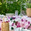 Pentik Orvokki Pink / Multi Tablecloth