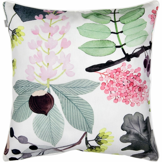 Pentik Puisto Ivory / Multi Throw Pillow