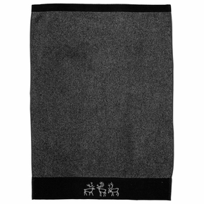 Pentik Saaga Dark Grey Hand Towel