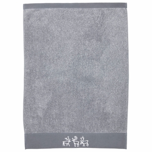 Pentik Saaga Light Grey Hand Towel