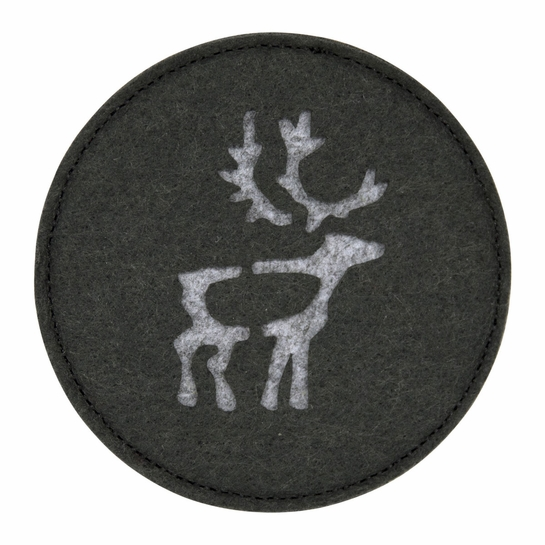Pentik Saaga Reindeer Coasters (Set of 4)