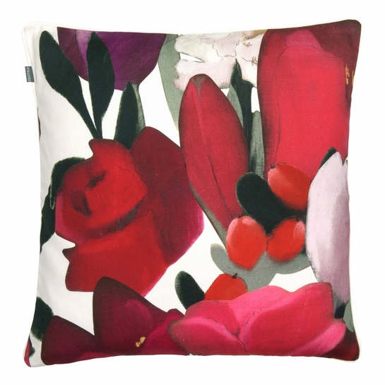 Pentik Sylvia Red Throw Pillow