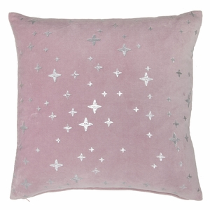 Pentik Tahtivyo Pink Velvet Throw Pillow
