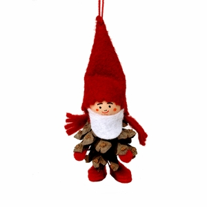 Pinecone Man Tonttu Ornament