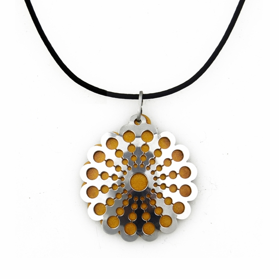 Pohjolan Helmi Marigold Yellow Necklace