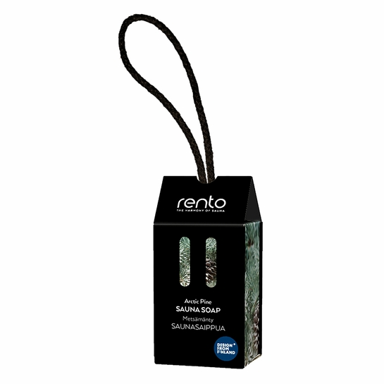 Rento Arctic Pine Soap on a Rope