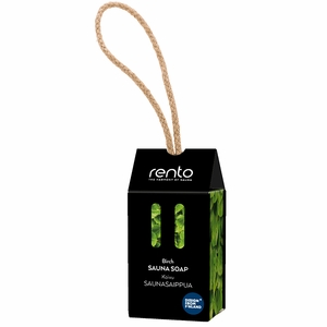 Rento Birch Sauna Soap on a Rope